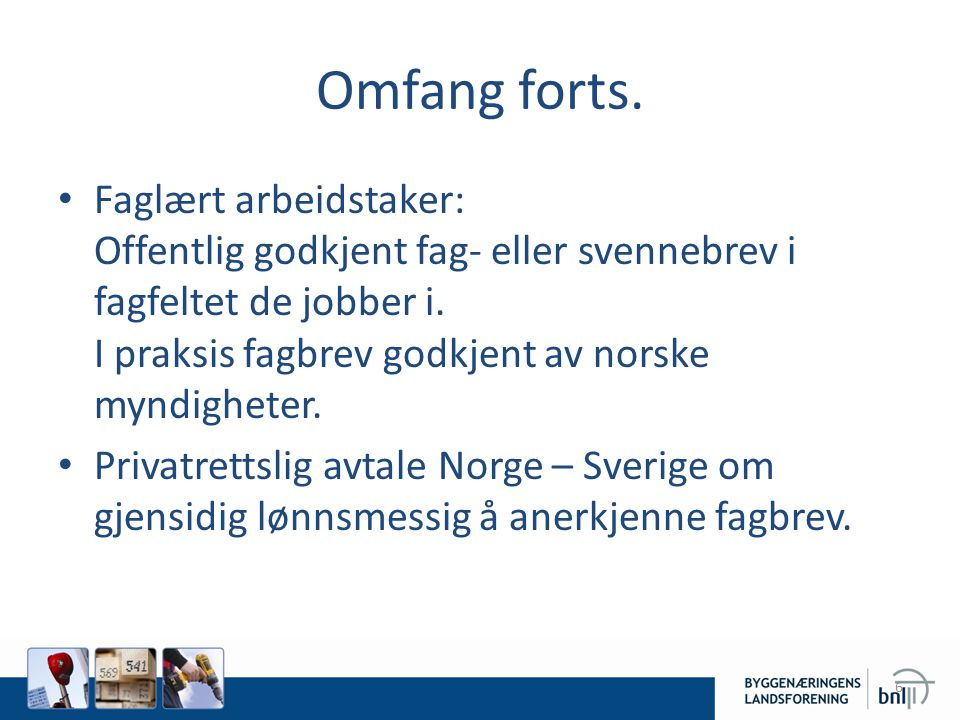 Omfang forts.