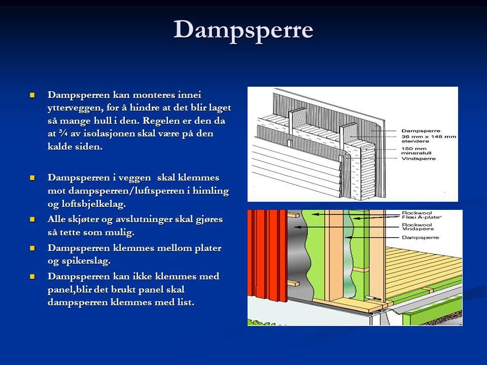 Dampsperre