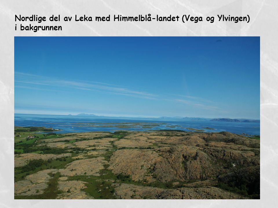 Nordlige del av Leka med Himmelblå-landet (Vega og Ylvingen)