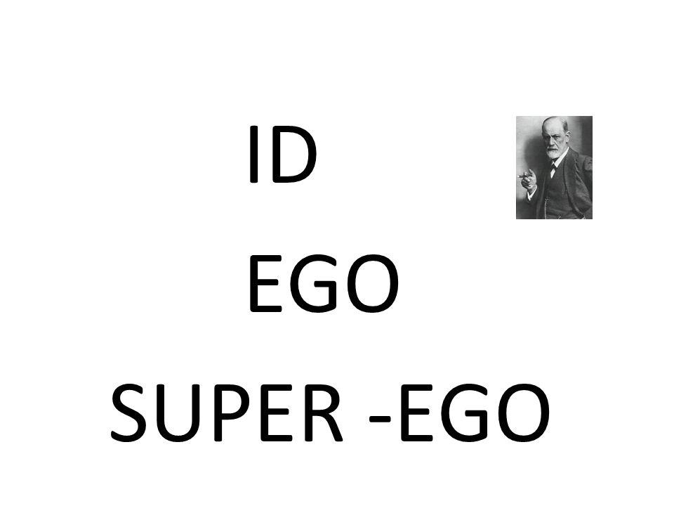 ID EGO SUPER -EGO