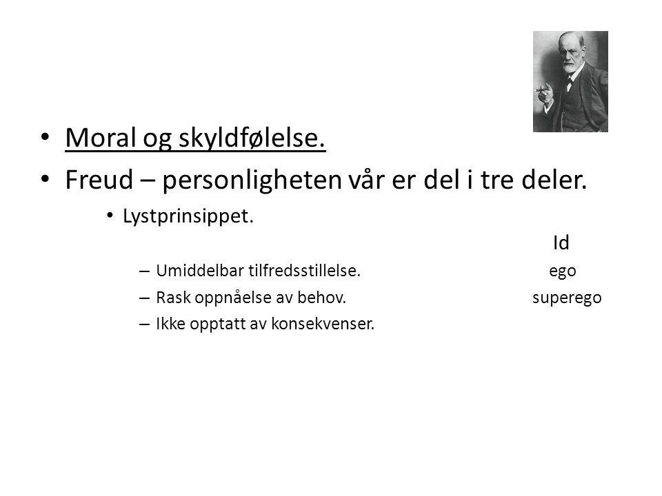 Freud – personligheten vår er del i tre deler.