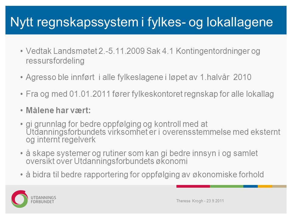 Nytt regnskapssystem i fylkes- og lokallagene