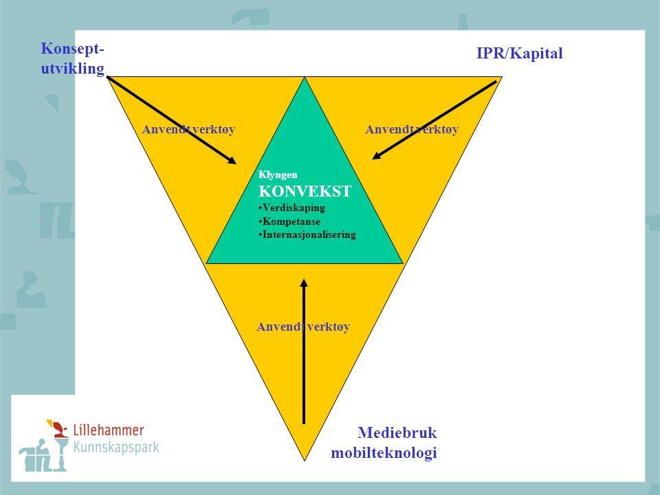 Konsept- IPR/Kapital utvikling Mediebruk mobilteknologi