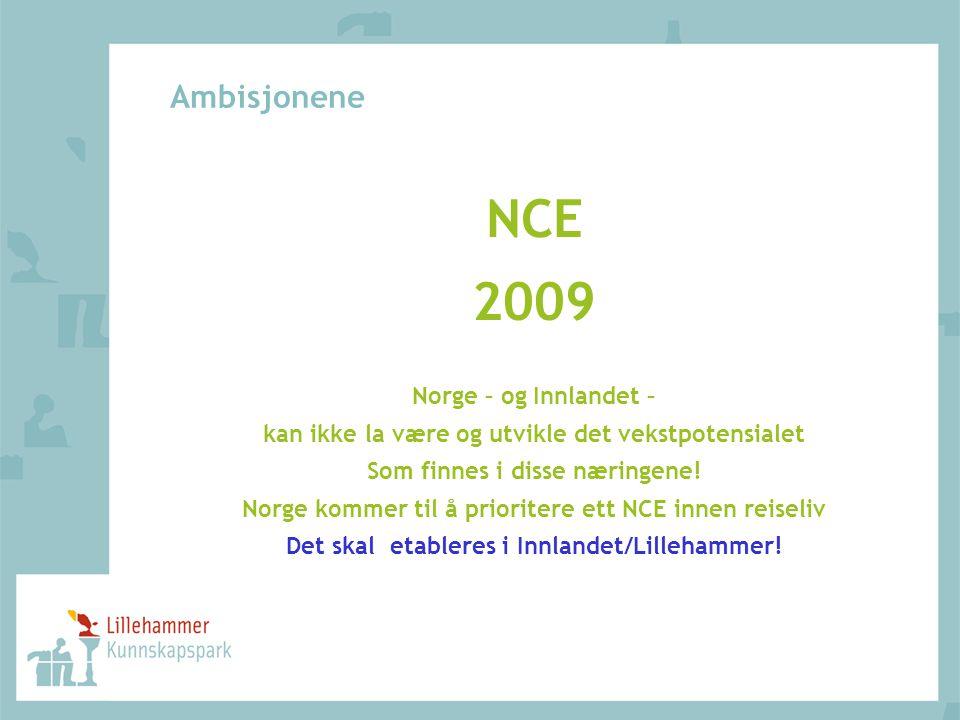 NCE 2009 Ambisjonene Norge – og Innlandet –