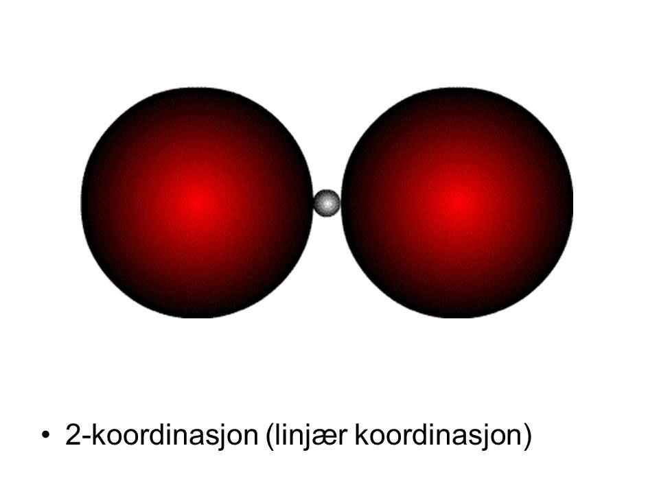 2-koordinasjon (linjær koordinasjon)
