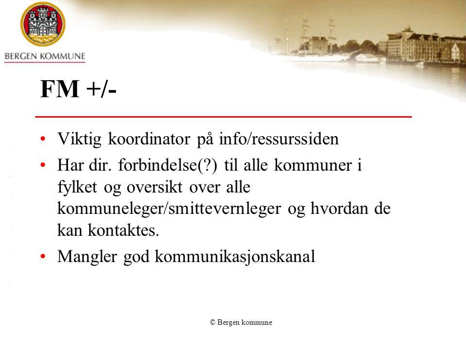 FM +/- Viktig koordinator på info/ressurssiden