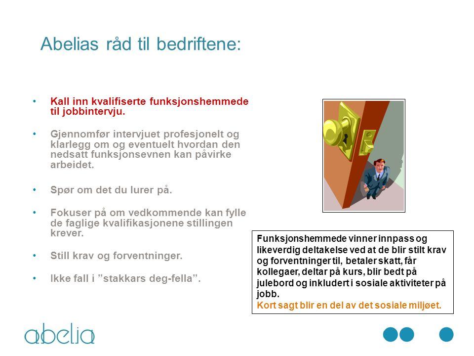 Abelias råd til bedriftene: