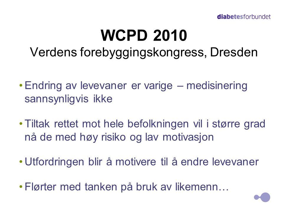 WCPD 2010 Verdens forebyggingskongress, Dresden