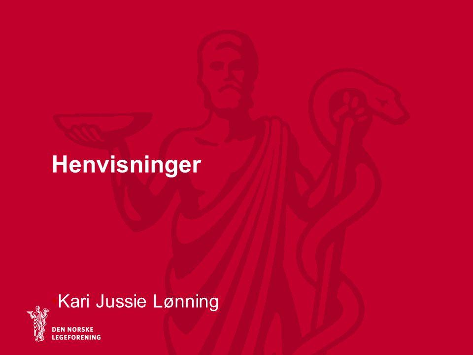 Henvisninger Kari Jussie Lønning