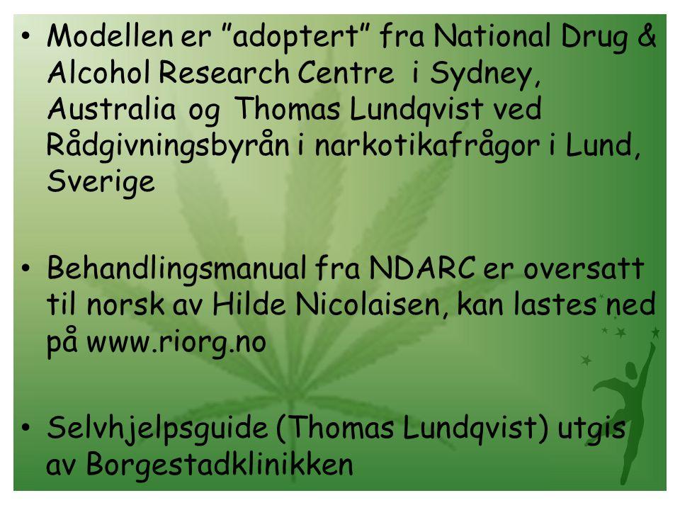 Selvhjelpsguide (Thomas Lundqvist) utgis av Borgestadklinikken