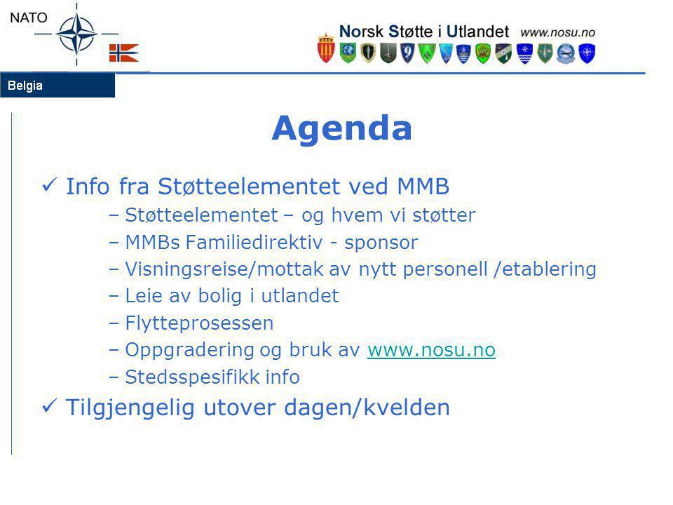 Agenda Info fra Støtteelementet ved MMB