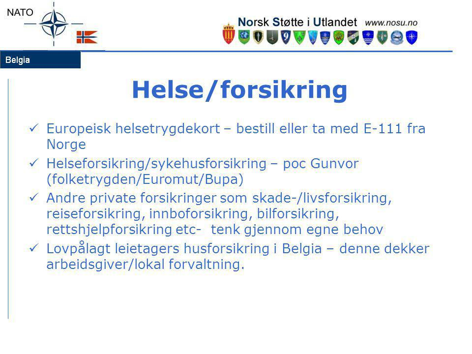 Helse/forsikring Europeisk helsetrygdekort – bestill eller ta med E-111 fra Norge.