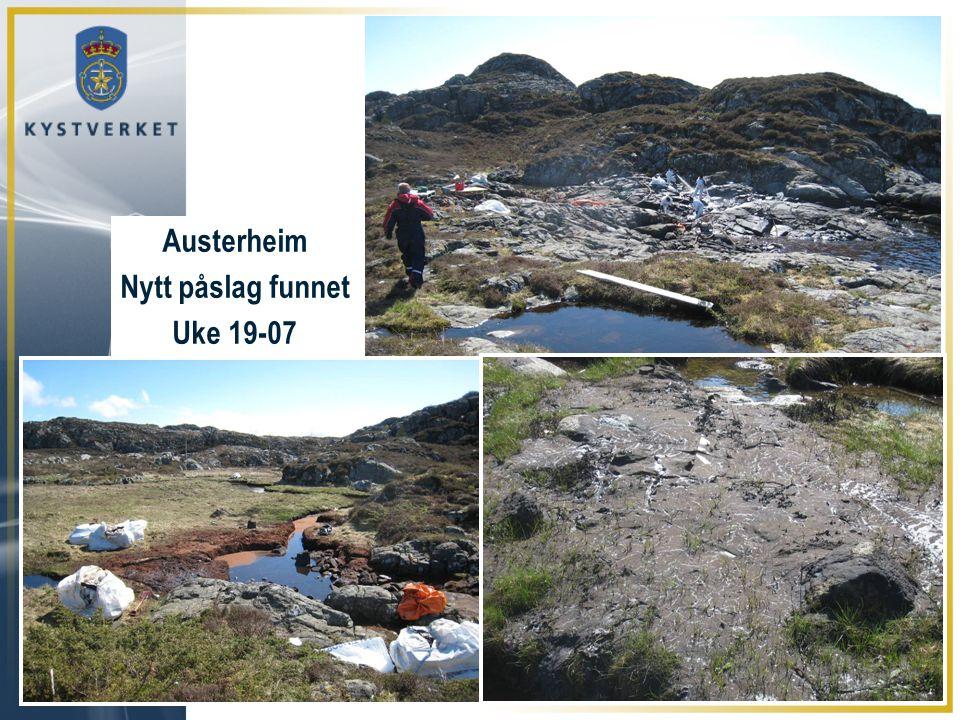 Austerheim Nytt påslag funnet Uke 19-07
