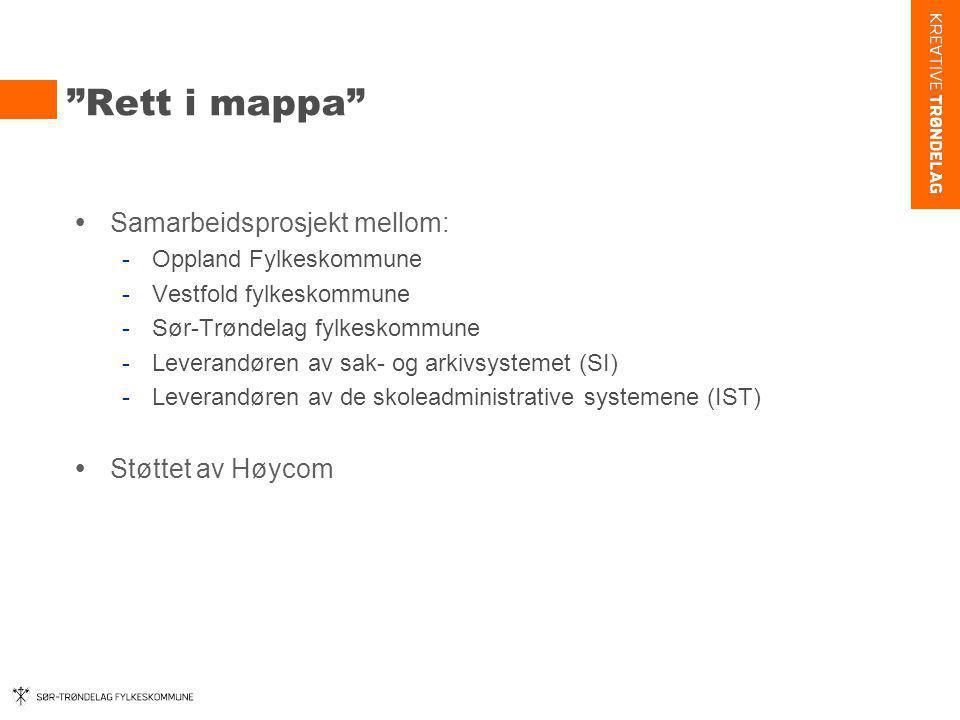 Rett i mappa Samarbeidsprosjekt mellom: Støttet av Høycom