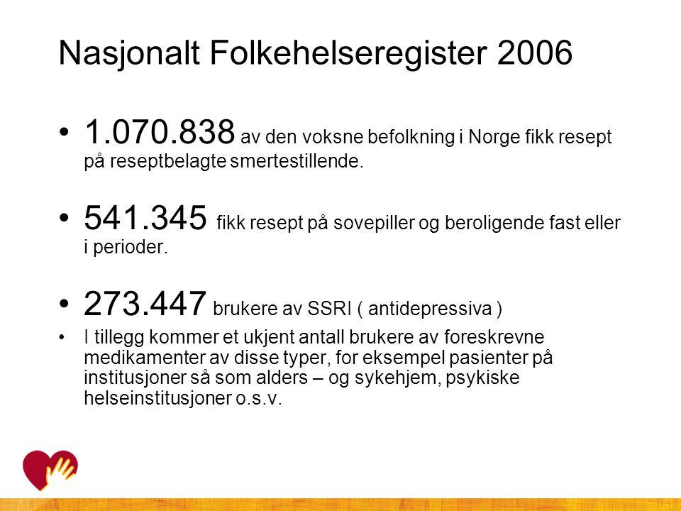 Nasjonalt Folkehelseregister 2006