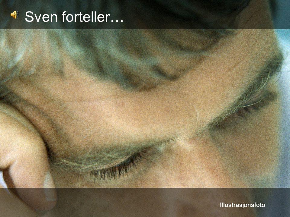 Sven forteller… Illustrasjonsfoto
