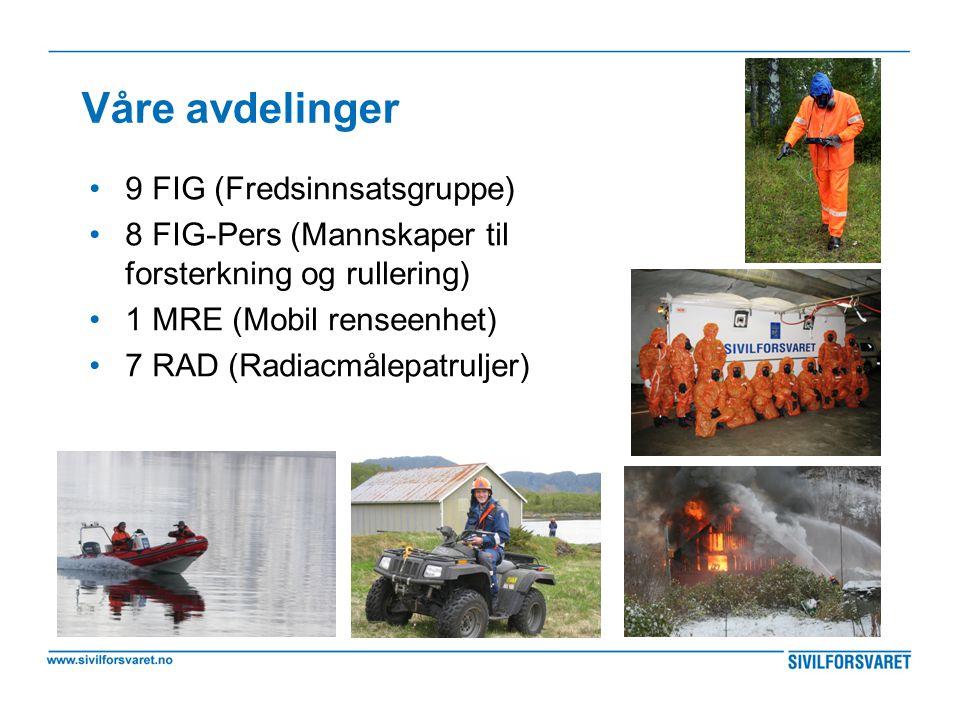 Våre avdelinger 9 FIG (Fredsinnsatsgruppe)