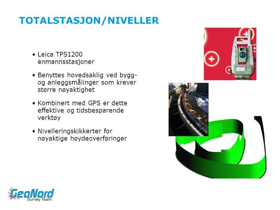 TOTALSTASJON/NIVELLER