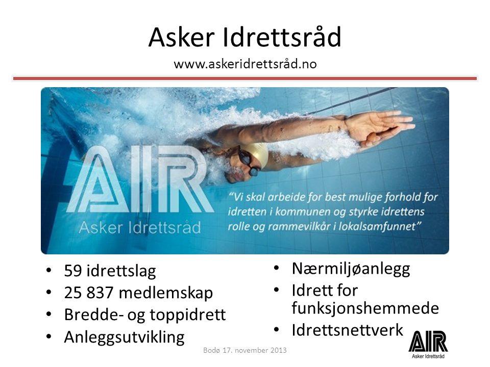 Asker Idrettsråd www.askeridrettsråd.no