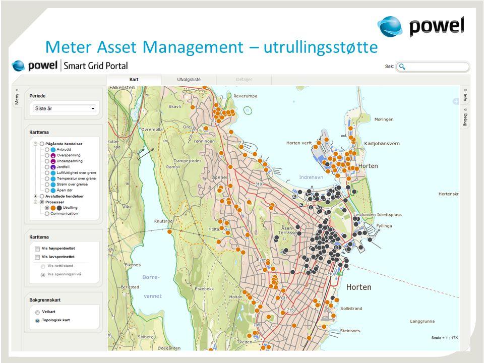 Meter Asset Management – utrullingsstøtte