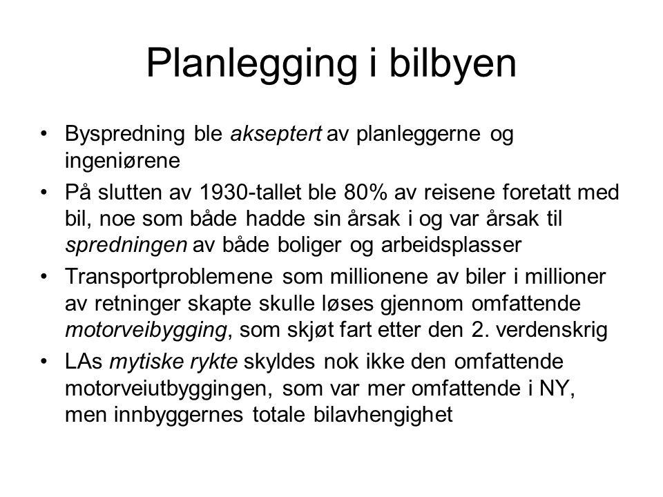 Planlegging i bilbyen Byspredning ble akseptert av planleggerne og ingeniørene.