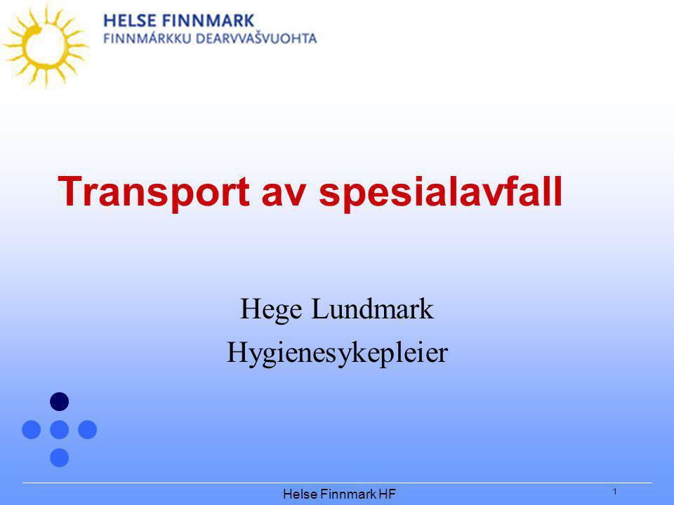 Transport av spesialavfall