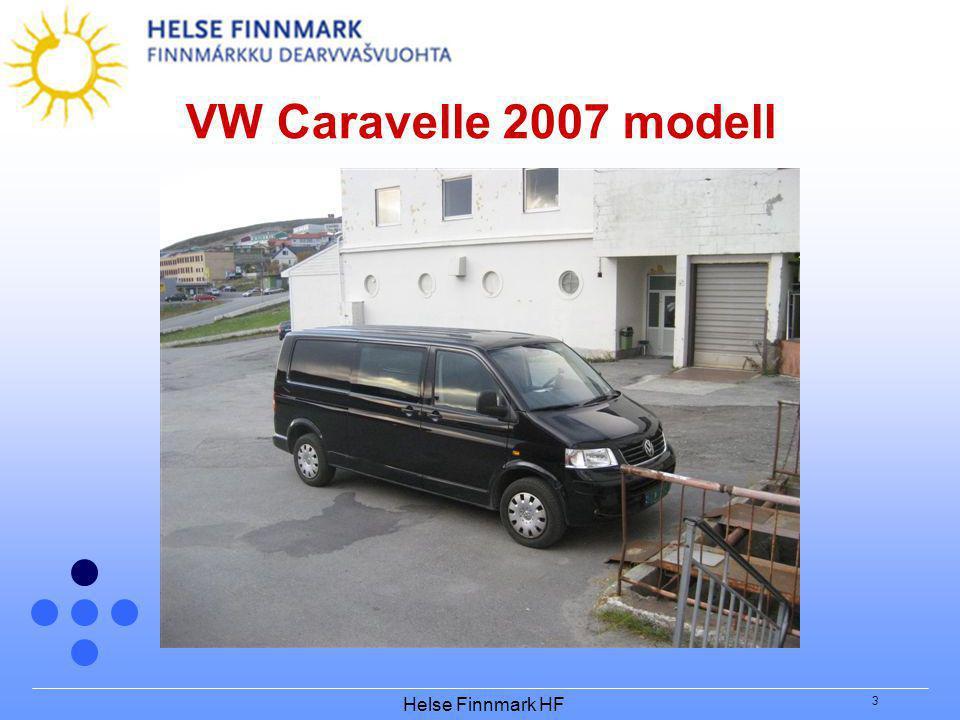 VW Caravelle 2007 modell Helse Finnmark HF