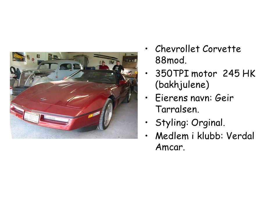 Chevrollet Corvette 88mod.