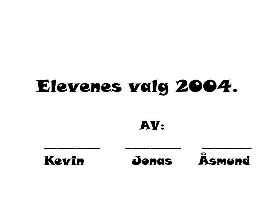 AV: _________ _________ ________ Kevin Jonas Åsmund