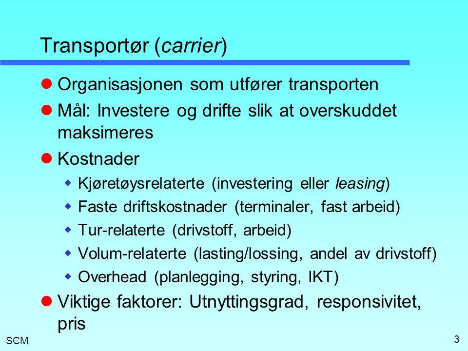 Transportør (carrier)