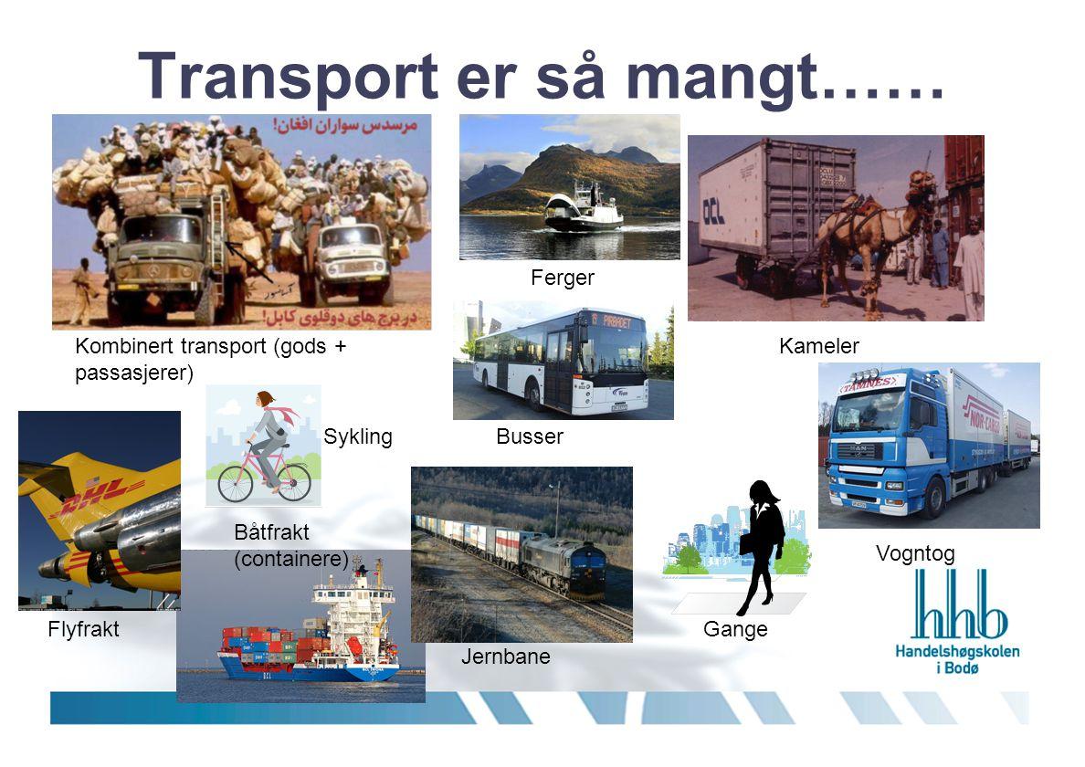 Transport er så mangt……