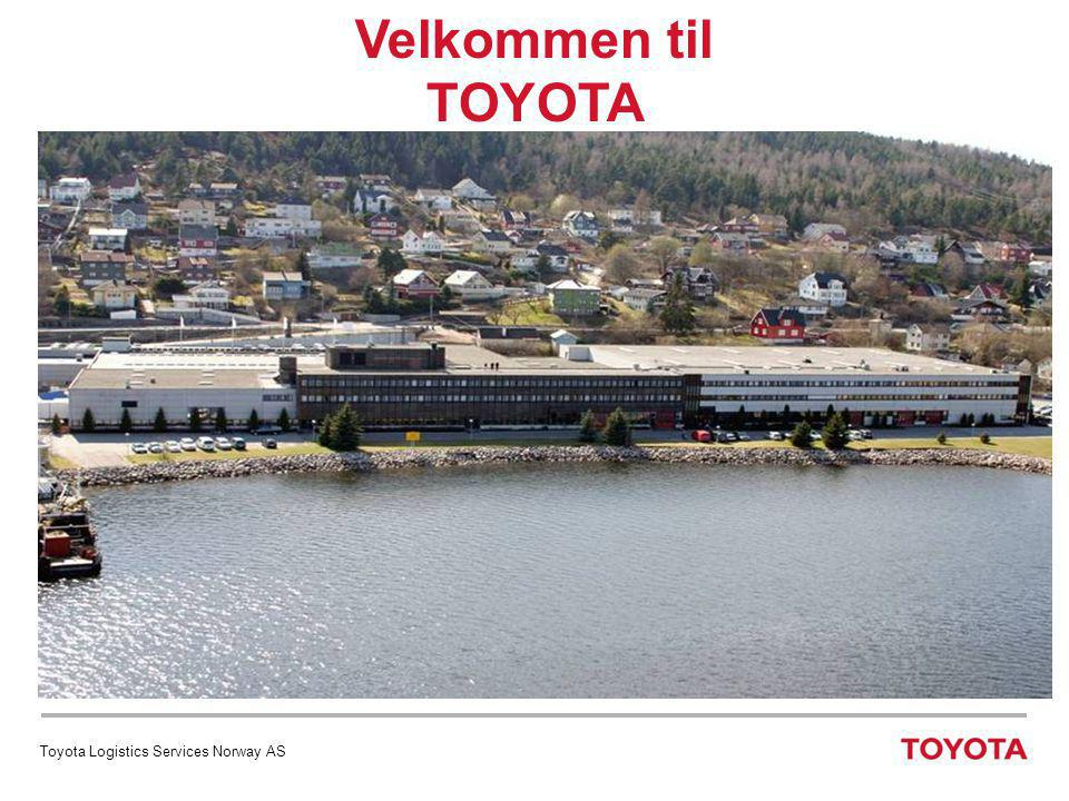 Velkommen til TOYOTA Toyota Logistics Services Norway AS