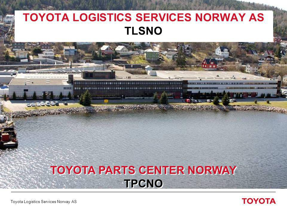 TOYOTA LOGISTICS SERVICES NORWAY AS TLSNO