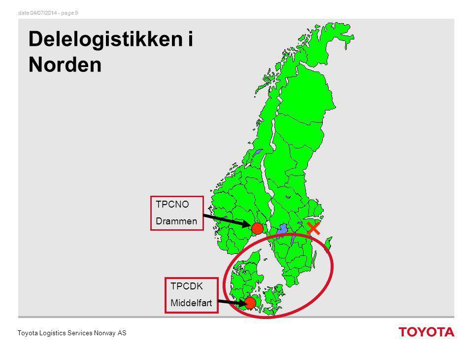 Delelogistikken i Norden