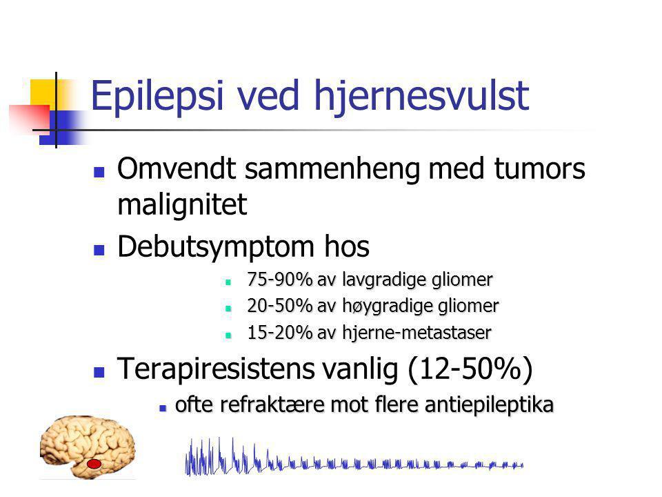 Epilepsi ved hjernesvulst