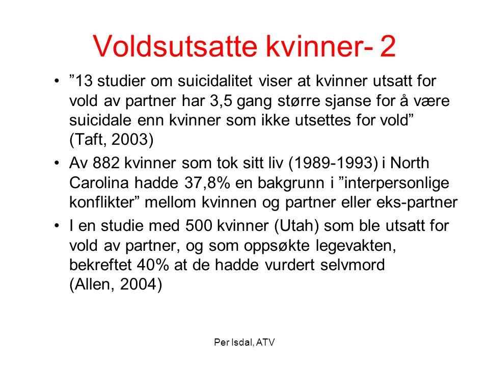 Voldsutsatte kvinner- 2