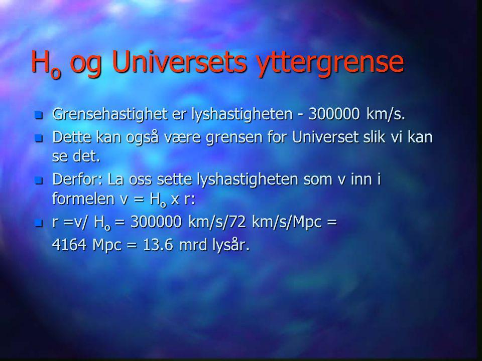 Ho og Universets yttergrense