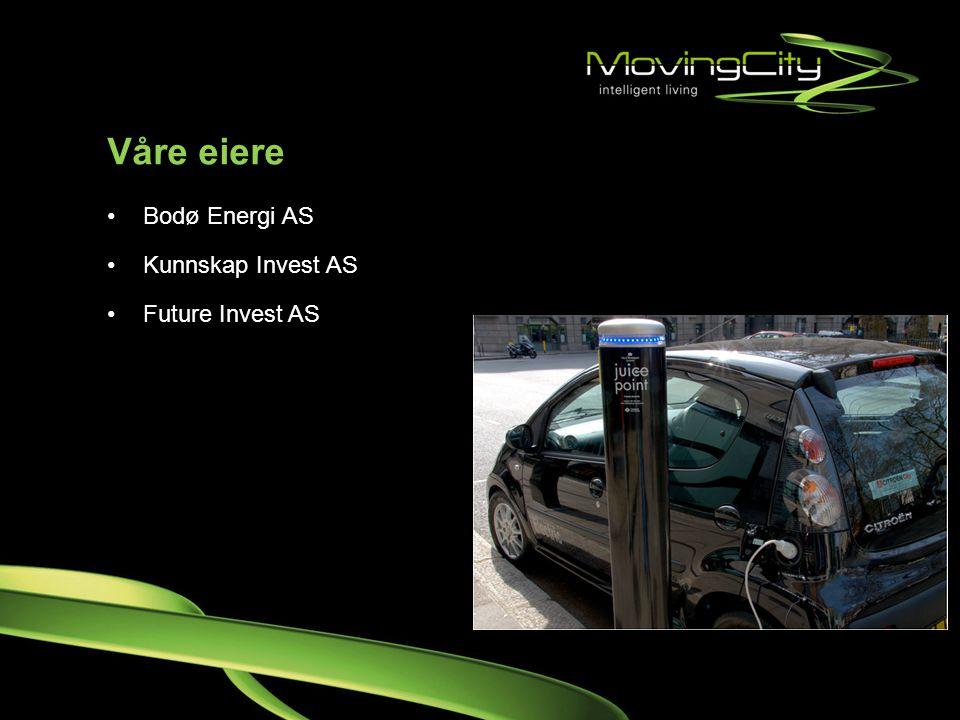 Våre eiere Bodø Energi AS Kunnskap Invest AS Future Invest AS