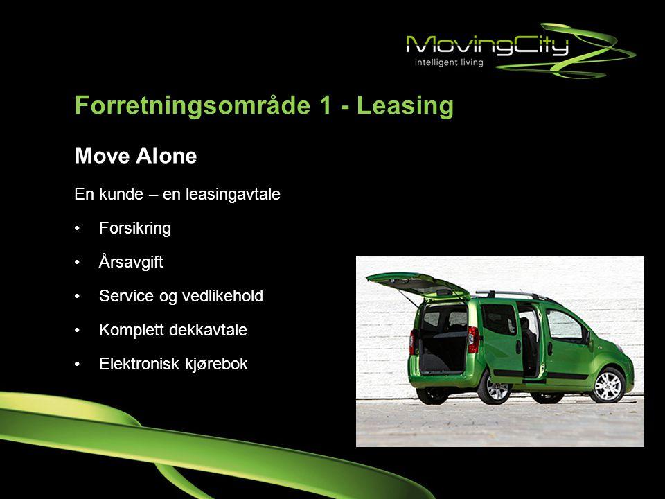 Forretningsområde 1 - Leasing