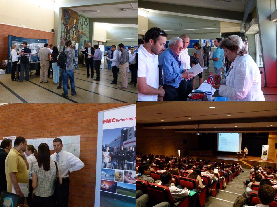 Bilder fra ingeniørmessen i Lisboa 29 juni 2011; ca 1000 ingeniører møtte opp for å treffe de 4 norske bedriftene som deltok her.
