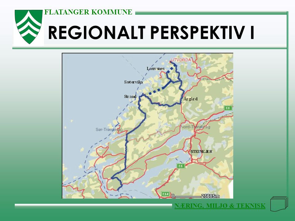 REGIONALT PERSPEKTIV I