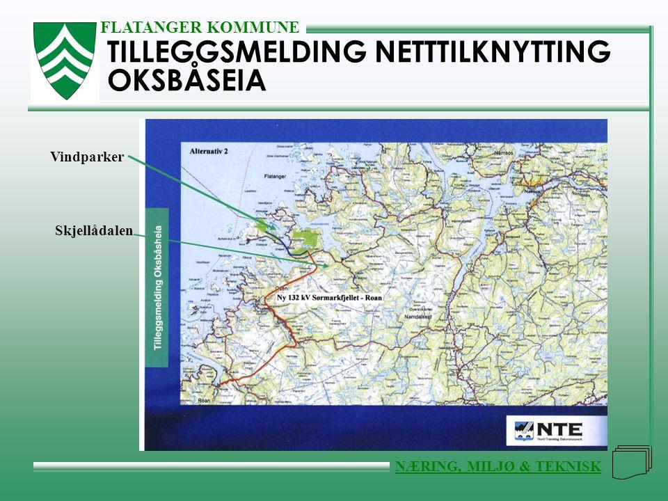 TILLEGGSMELDING NETTTILKNYTTING OKSBÅSEIA