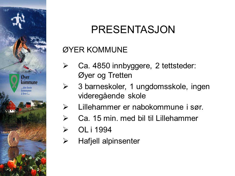 PRESENTASJON ØYER KOMMUNE