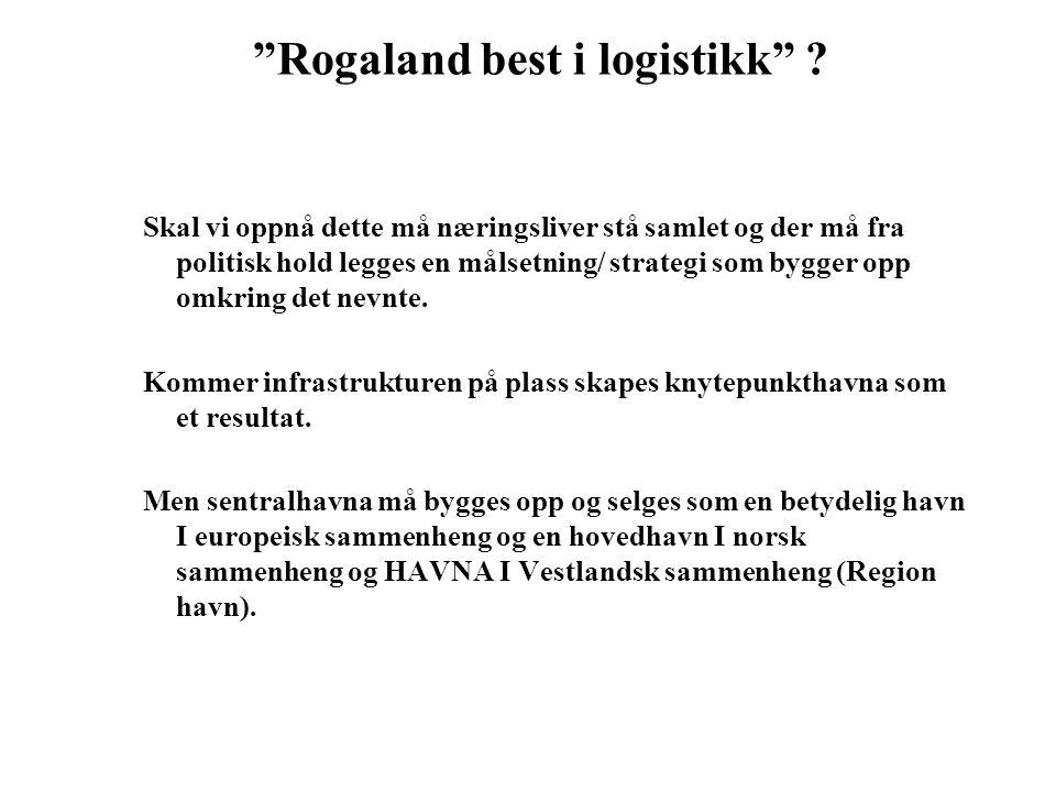 Rogaland best i logistikk