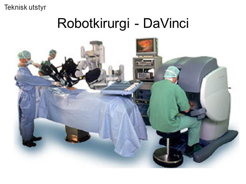 Robotkirurgi - DaVinci