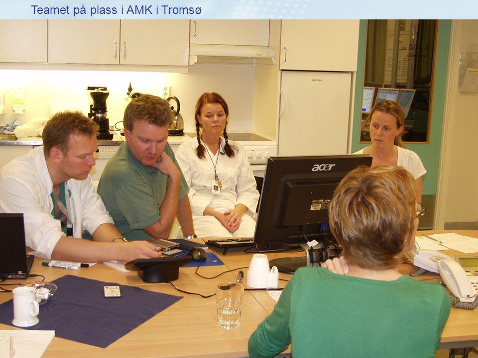 Teamet på plass i AMK i Tromsø