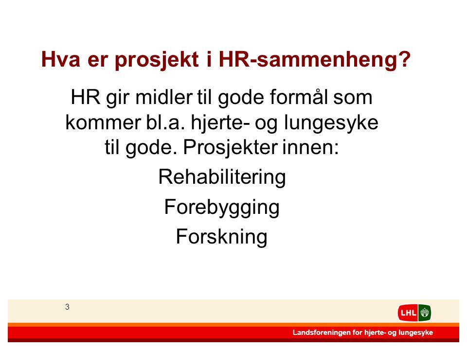 Hva er prosjekt i HR-sammenheng