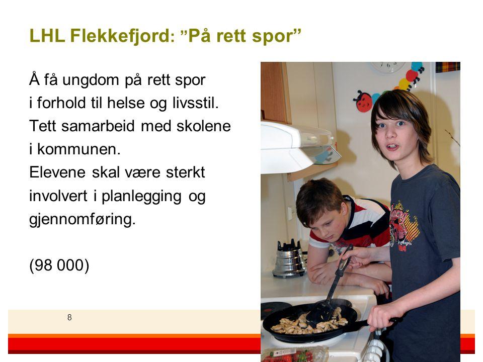 LHL Flekkefjord: På rett spor