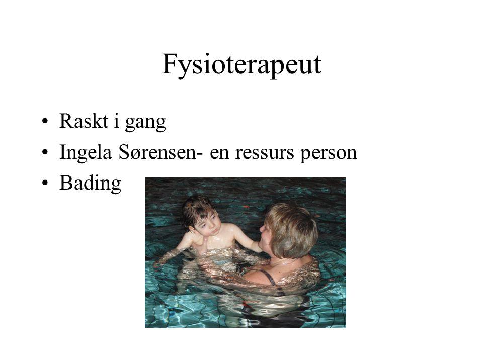 Fysioterapeut Raskt i gang Ingela Sørensen- en ressurs person Bading