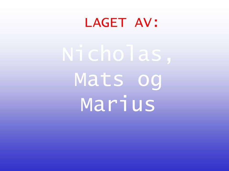 Nicholas, Mats og Marius